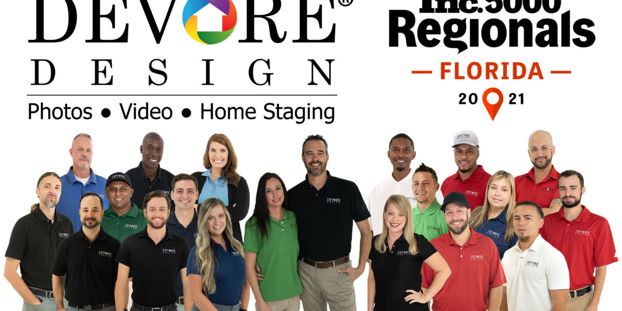 DeVore Design Ranked Among Fastest Growing Florida Companies