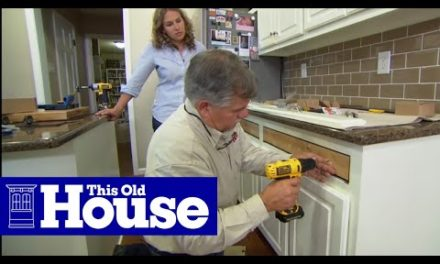 How to Install Full-Extension Cabinet Drawers | This Old House