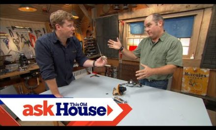 How to Repair a Squealing Shower | Ask This Old House