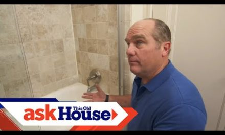 How to Add an Overflow to a Bathtub | Ask This Old House