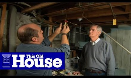 How to Replace a Plumbing Shut-Off Valve | This Old House