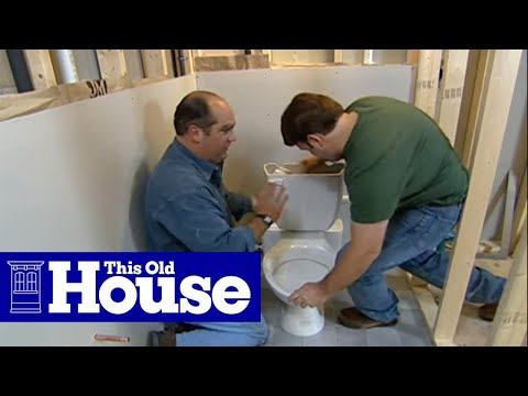 How to Install a Toilet Below Grade | This Old House