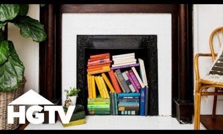 3 Creative Ways to Style an Unused Fireplace – HGTV Happy