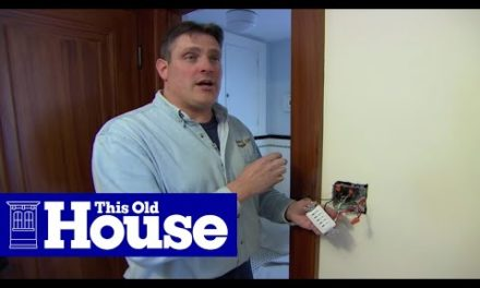 How to Install a Bathroom Fan   Ask This Old House