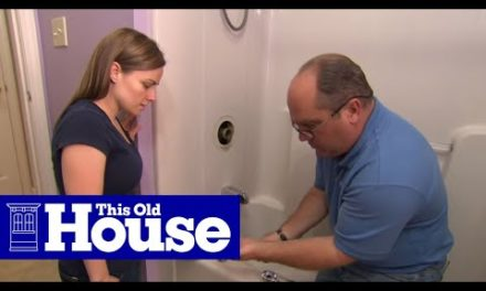 How to Repair a Shower Valve | This Old House