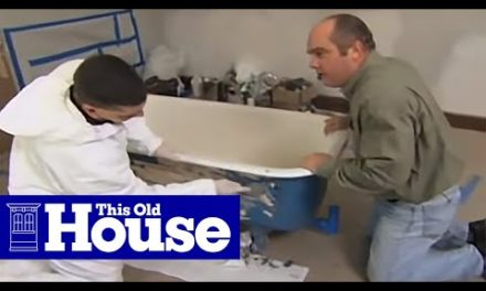 How to Refinish a Claw-Foot Tub | This Old House