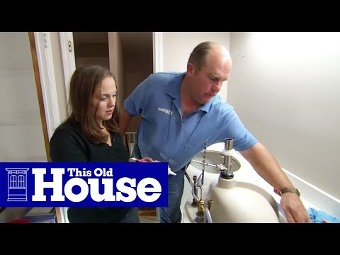 How to Add a Second Sink to a Bath Vanity | This Old House