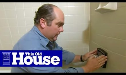 How to Replace a Shower Mixing Valve | This Old House