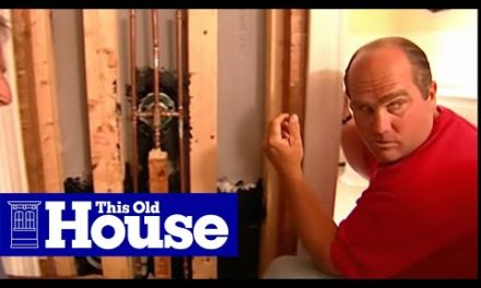 How to Repair a Shower Valve in a Tile Wall | This Old House