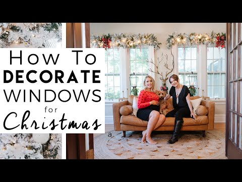 CHRISTMAS DECORATING   How to Decorate Windows for Christmas   Kinwoven Christmas