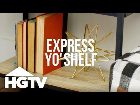 3 Ways to Decorate a Bookshelf – HGTV Happy