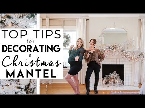 CHRISTMAS DECORATING 2020 | Tips for Decorating a Fireplace Mantel | Kinwoven Christmas