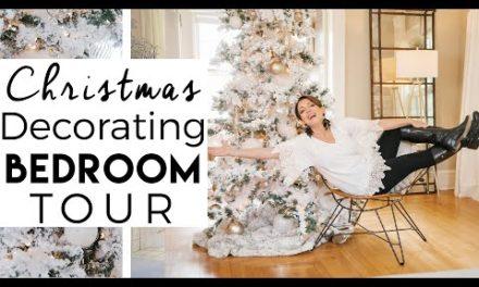 Christmas Decorating Bedroom Tour | Christmas 2020 | Kinwoven Christmas