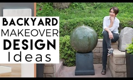 INTERIOR DESIGN | My Backyard Makeover and Ideas for Decorating Your Backyard