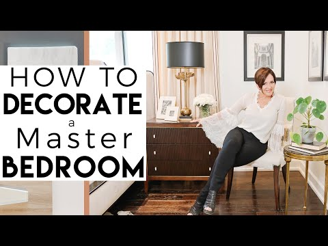 INTERIOR DESIGN | My Master Bedroom Makeover and Decorating Ideas