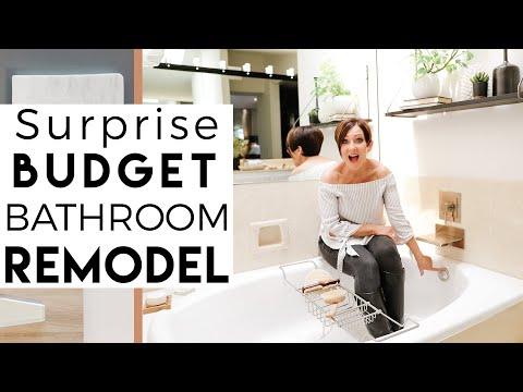 INTERIOR DESIGN | Surprise Budget Bathroom Remodel