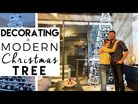 CHRISTMAS DECORATING | How to Decorate a Christmas Tree for a Modern Home