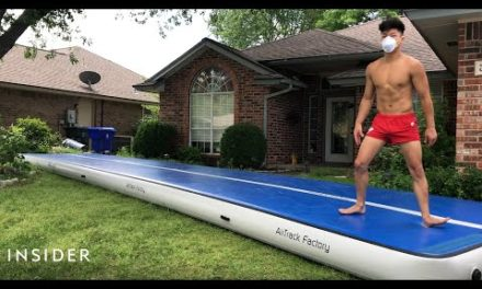 World-Class Gymnast's Workout While Stuck At Home