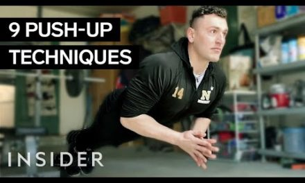 Navy Midshipman's 200 Push-Up Workout While Stuck At Home (9 Different Ways)