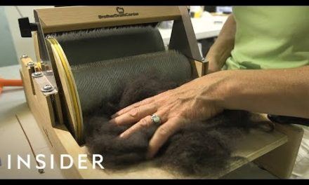 Woman Makes Sweaters Out Of Dog Hair