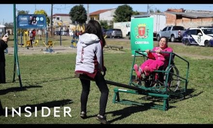 Mother Gets Special Needs Playground Built So Her Daughters Can Play Together