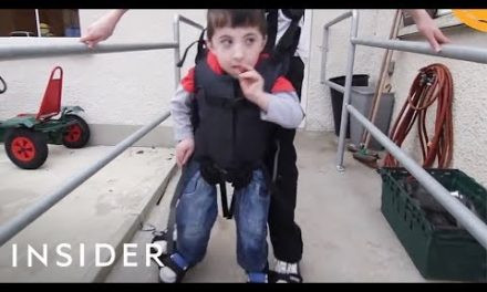 Help Children With Disabilities Walk With This Tool