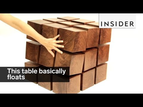 This table basically floats