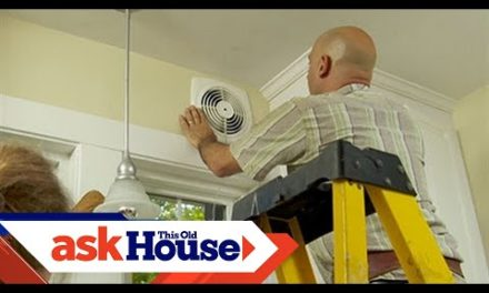 How to Install a Through-the-Wall Exhaust Fan | Ask This Old House