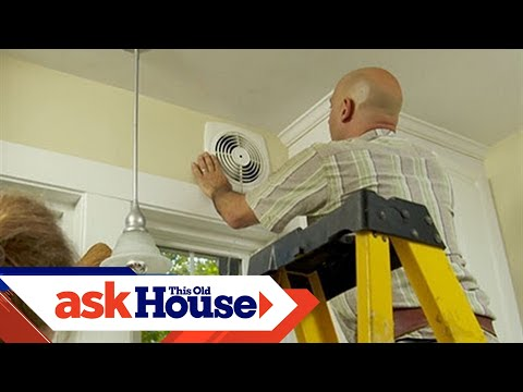 How to Install a Through-the-Wall Exhaust Fan   Ask This Old House