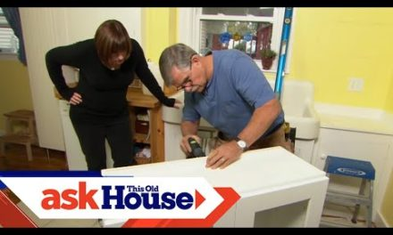 How to Hang a Kitchen Wall Cabinet | Ask This Old House