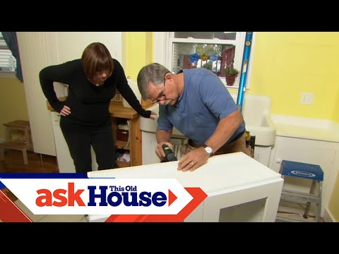 How to Hang a Kitchen Wall Cabinet   Ask This Old House