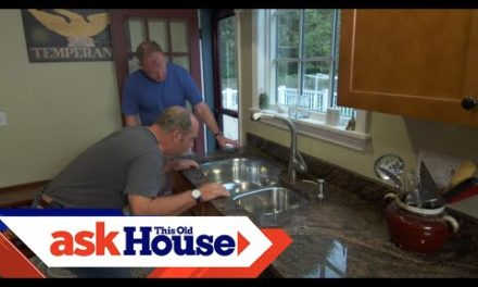 How to Secure an Undermount Kitchen Sink | Ask This Old House