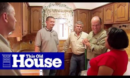 How to Replace a Small Kitchen | This Old House